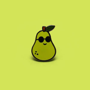 Peary Cool Enamel Pin