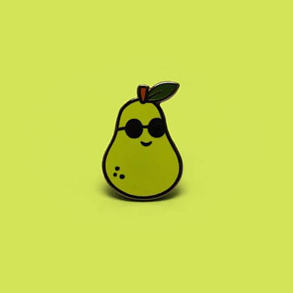 Peary Cool Enamel Pin