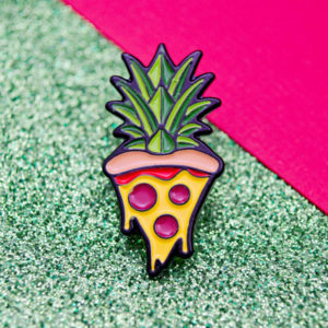 Pineapple Pizza Enamel Pin