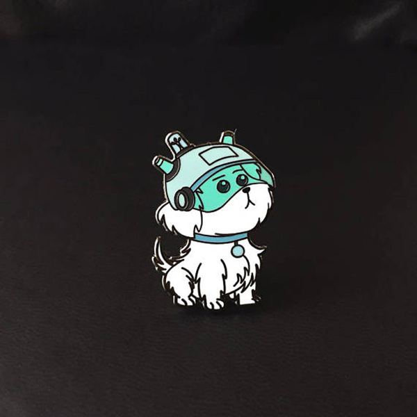 Rick and Morty Snuffles Enamel Pin