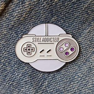 Still Addicted Enamel Pin