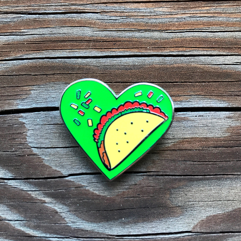 Taco Love Enamel Pin