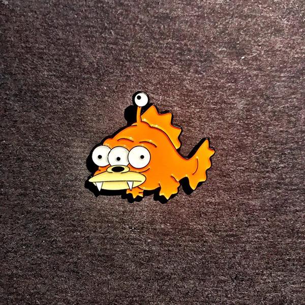 Blinky Nibbler Enamel Pin