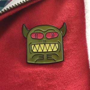 Demon Totem Enamel Pin
