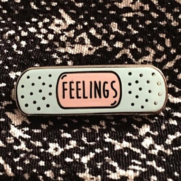Feelings Enamel Pin