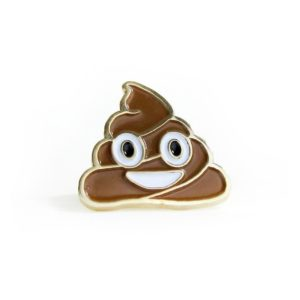 Happy Poop Enamel Pin