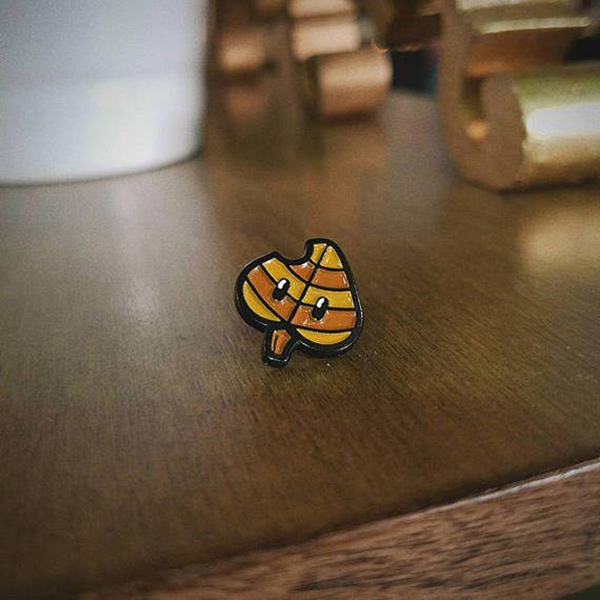 Super Mario Magic Leaf Enamel Pin