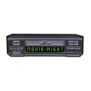 Movie Night Enamel Pin