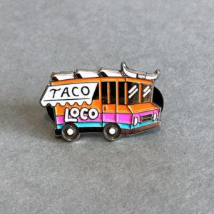 Taco Truck Enamel Pin