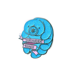 Tardigrade Tough Enamel Pin