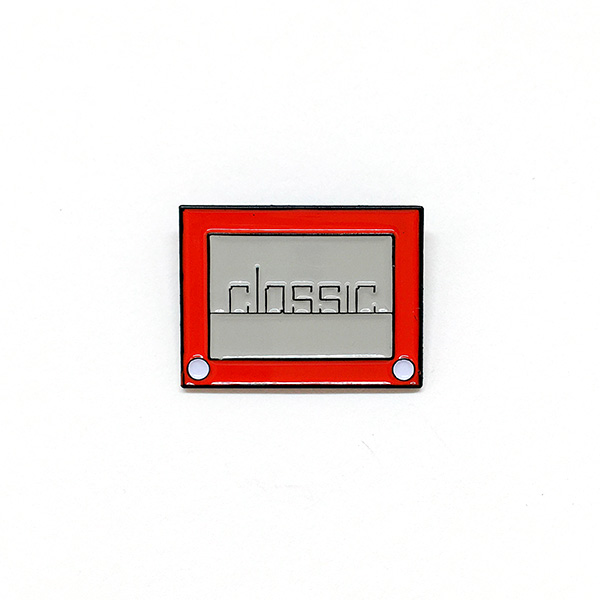 Vintage Toy Enamel Pin