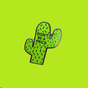 Wise Cactus Enamel Pin