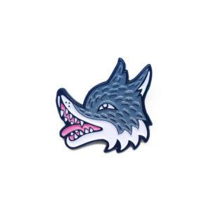 Wolfy Enamel Pin