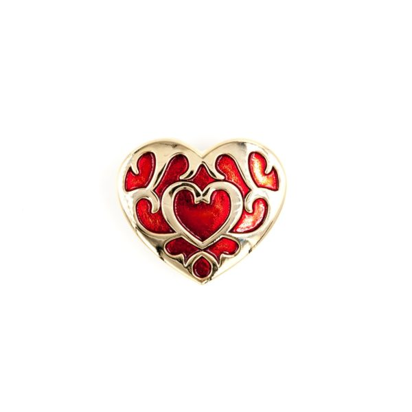 Zelda Breath of the Wild Heart Container Enamel Pin