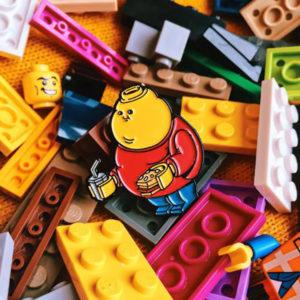 Chunky Lego Enamel Pin