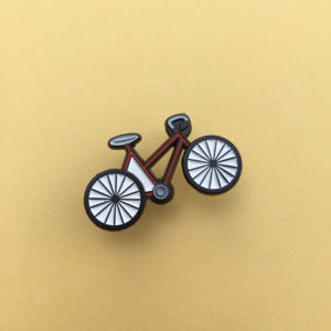 Cool Bike Enamel Pin
