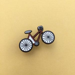 Cool Bike Enamel Pin