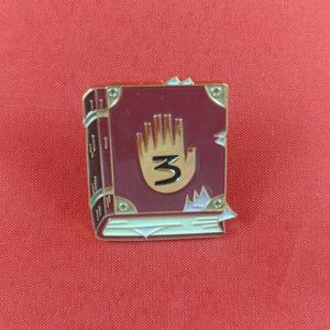 Journal 3 Enamel Pin