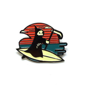 Life's a Beach Enamel Pin