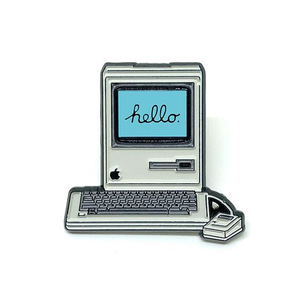 Macintosh Enamel Pin
