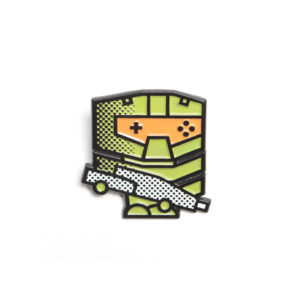 Pop Art Halo Masterchief Enamel Pin