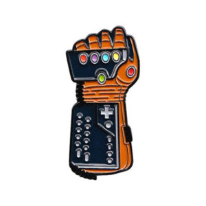 Power Gauntlet Enamel Pin