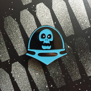 Space Ghoul Enamel Pin