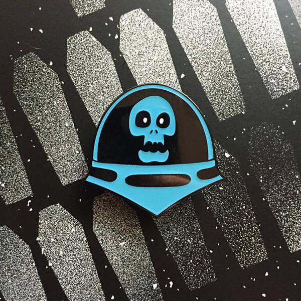 Space Ghoul Enamel Pin