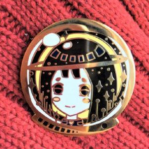 Astrogirls Spaced Themed Enamel Pins