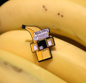 Bluth's Banana Stand Enamel Pin