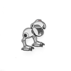 Robot Mouse Enamel Pin