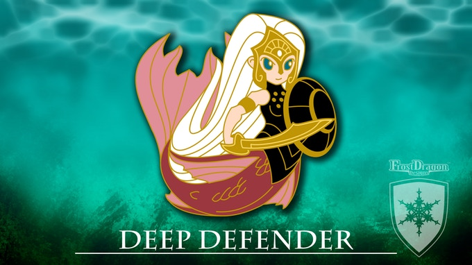 Chibi Mermaid Adventure - Hard Enamel Pin Collection