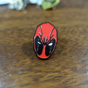 Deadpool Fan Art Enamel Pin