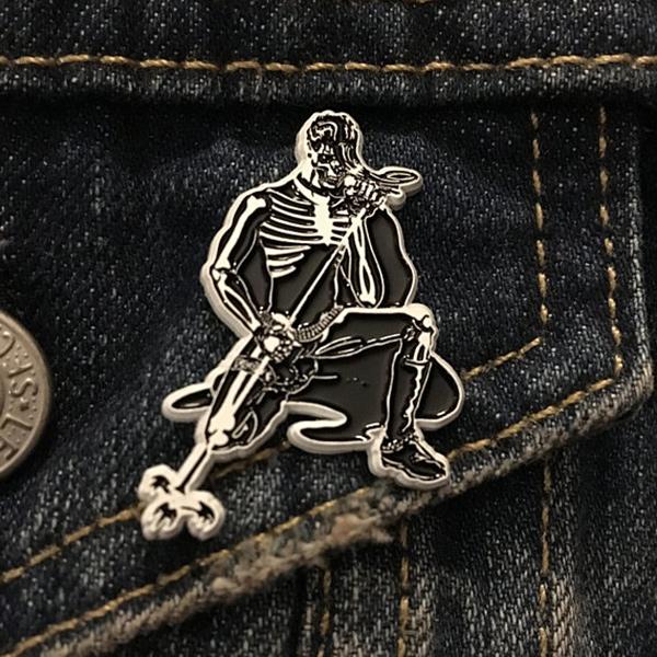 Evil Never Dies Enamel Pin