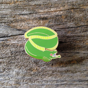 Moray Eel Enamel Pin