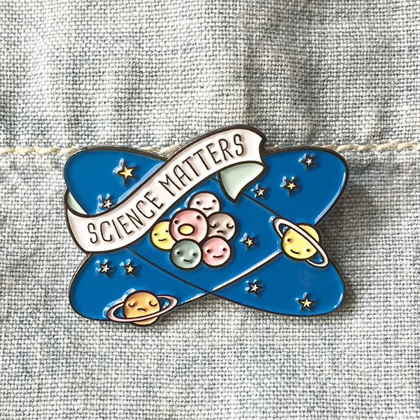 Science Matters Enamel Pin