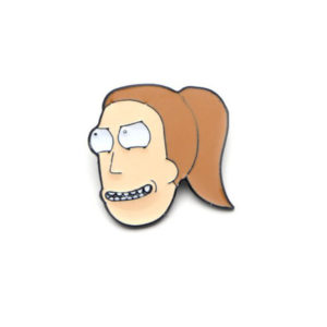 Rick and Morty Summer Enamel Pin
