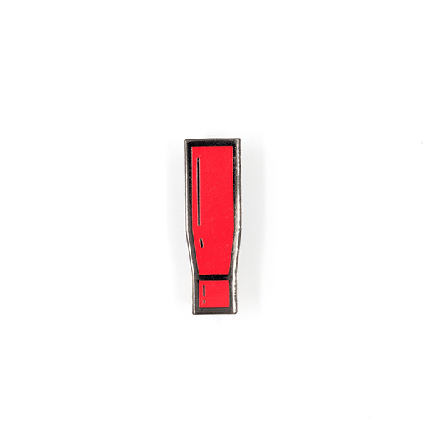 Metal Gear Alert Enamel Pin