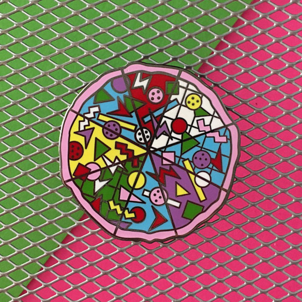 Rad Pizza Enamel Pin