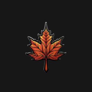 Maple Leaf Enamel Pin
