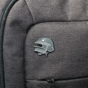 PUBG Level 3 Helmet Enamel Pin