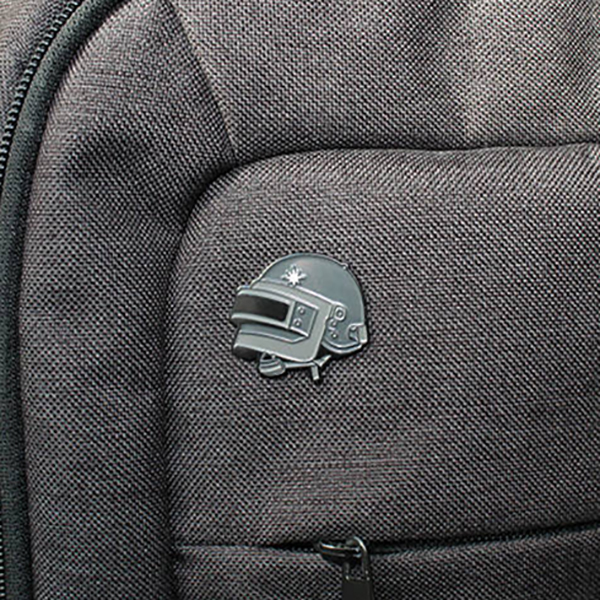 PUBG Level 3 Helmet Enamel Pin